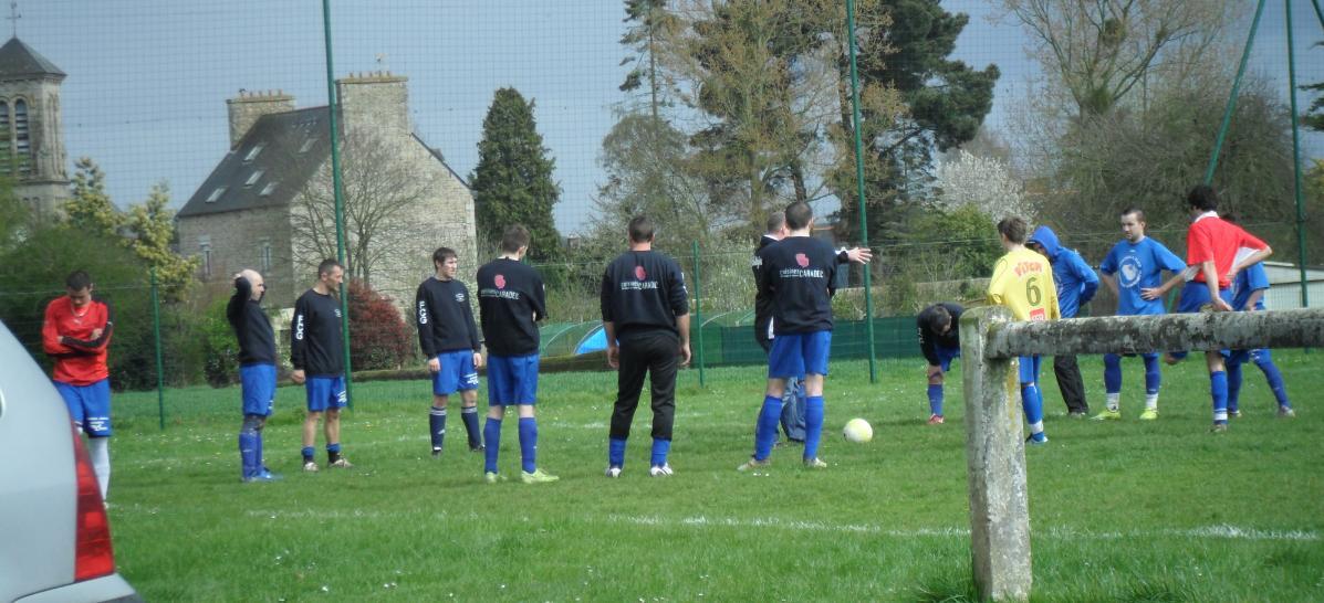 Briefing avant match contre Goudelin