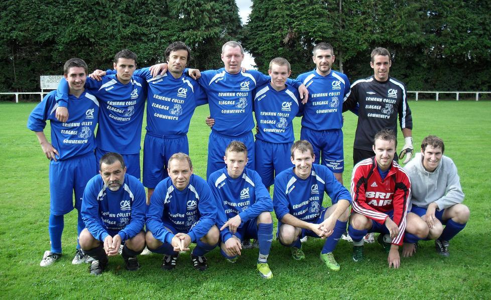 photo équipe 2010/2011