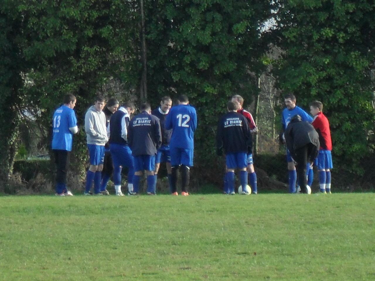 Briefing avant match