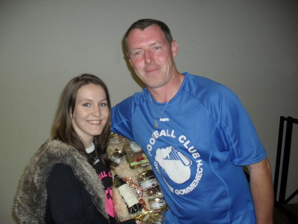 Gagnante 2eme prix loterie 2011